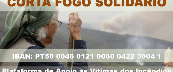 CORTA FOGO SOLIDÁRIO – Apoios às Vítimas