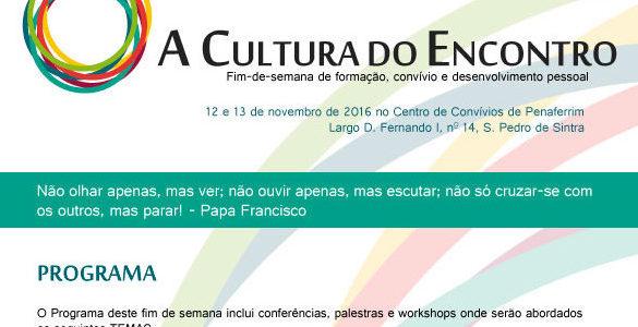 """""""A Cultura do Encontro"""" – ação de formação"""