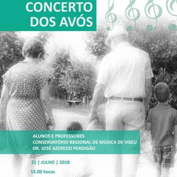 Cartaz Concerto dos Avós