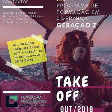 """""""Take Off"""" – Programa de Liderança para a Geração Z"""
